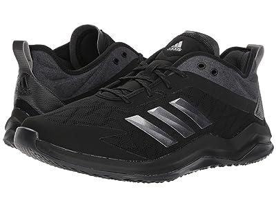 adidas Speed Trainer 4 (Black/Night/Carbon) Men