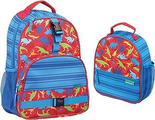 Stephen Joseph Boys Dinosaur Print Backpack and Lunch Box