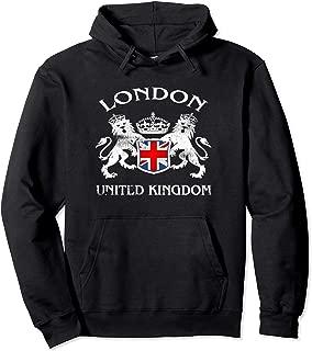 London Coat Of Arms British UK Souvenir English Gift Idea Pullover Hoodie