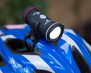 helmet mounted rear cycle light