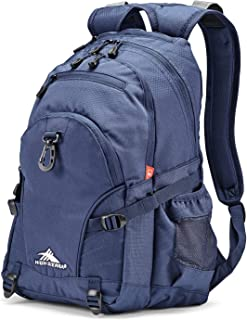 High Sierra Loop Backpack for Men and Women, Compact Bookbag Backpack for College Students or Business Professionals, Stylish Lunch Backpack, Lightweight Unisex Backpack for School, Office, or Travel
