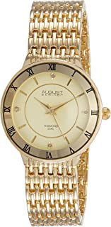 August Steiner Women's Marquess Analogue Display Japanese Quartz Watch with Alloy Bracelet