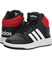 adidas Kids - Hoops Mid 2 (Little Kid/Big Kid)