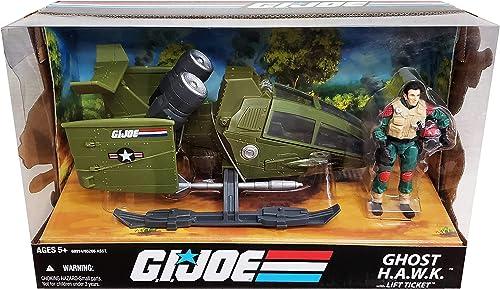 Hasbro - Figurine G.I. JOE véhicule  Ghost Hawk w  Lift Ticket