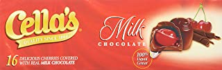 Cella's Cherries Covered with Real Milk Chocolate - 16 CT 8oz