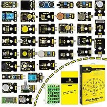 KEYESTUDIO 37 in 1 Sensor Kit for Arduino UNO R3 MEGA 2560 Nano Raspberry Pi Micro Bit
