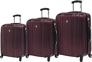 مجموعة حقائب السفر الدوارة Acciaio Italy Hardside من 3 قطع من Mia Toro