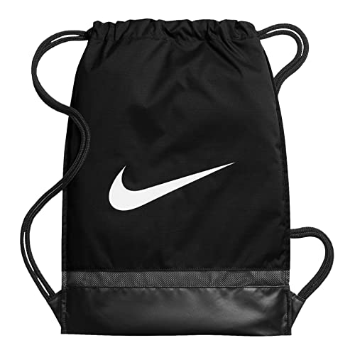 Nike Nk Brsla Gmsk Bolsa de Cuerdas, Hombre, Negro Black/White, Talla