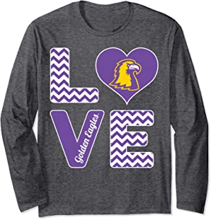 Tennessee Tech Golden Eagles Stacked Love T-Shirt