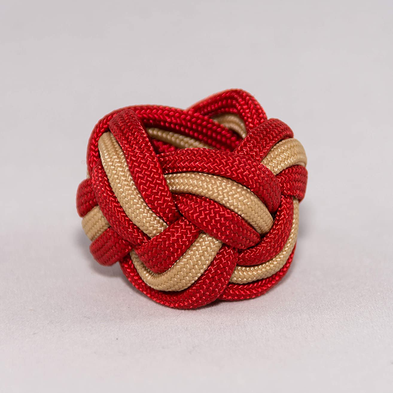 Scout Neckerchief Slide Woggle Turks Head Knot