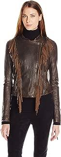 Women's Vintage Leather Fringe Jacket