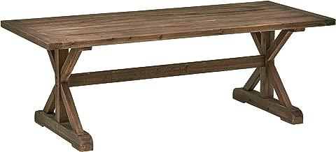 Stone & Beam Bradhurst Rustic Wood Dining Table, 30