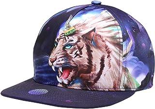 NUZADA Snapback Flatbrim Cap Unisex Breathable Hip Hop Hat with Adjustable Closure