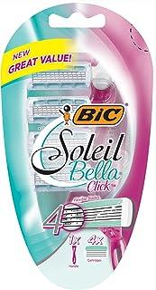 BIC Soleil Bella?Click Razor with 4 Cartridges