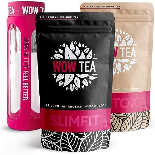 Tisane detox dimagrante - erbe brucia grassi per profonda detox del corpo wow tea set B089NY3121