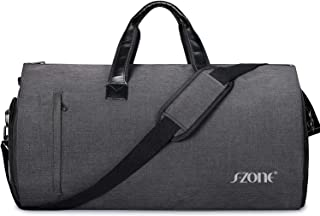 Carry On Garment Bag for Travel 2 in 1 Convertible Men Luggage Duffle Bag