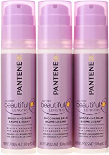 Pantene Pro-V Restore Beautiful Lengths Smoothing Hair Balm 3.5 Oz (Pack of 3)