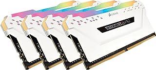Corsair Vengeance RGB PRO 32GB (4x8GB) DDR4 3000MHz C15 XMP 2.0 Enthusiast RGB LED Beleuchtung Speicherkit   weiß