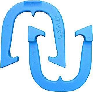 E-Z Flip Professional Pitching Horseshoes, Made in The USA