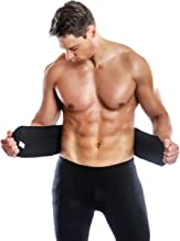 Agon® Waist Trimmer & Trainer Back Support Belt for Men & Women. More Fully Adjustable Than Other Waist Slimming Sauna Belts. Provides Best Support for Lower Back & Lumbar. Results Guaranteed (S/M)