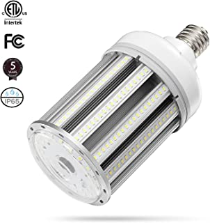 100w Led Corn cob light Bulb E39 Base, 5000K 13000lm AC100-277V,CFL HID HPS Metal Halide(400w) Replacement for Street and Area Light shoebox Fixture Factory Warehouse High Bay Garage light Parking Lot