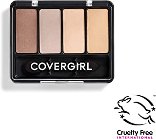 COVERGIRL Eye Enhancers 4-Kit Eye Shadow, Sheerly Nudes (Packaging May Vary)
