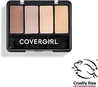 COVERGIRL Eye Enhancers 4-Kit Eye Shadow, Sheerly Nudes (Packaging May Vary)