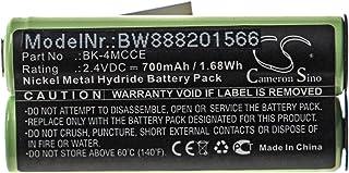 vhbw Akumulator kompatybilny z Waterpik Sensonic Plus SR-3000, SR-3000E elektryczna szczoteczka do zębów (700 mAh, 2,4 V, ...