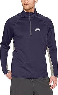 NFL Men's OTS Poly Fleece 1/4-zip Pullover