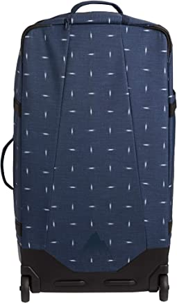 Dress Blue Basket Ikat