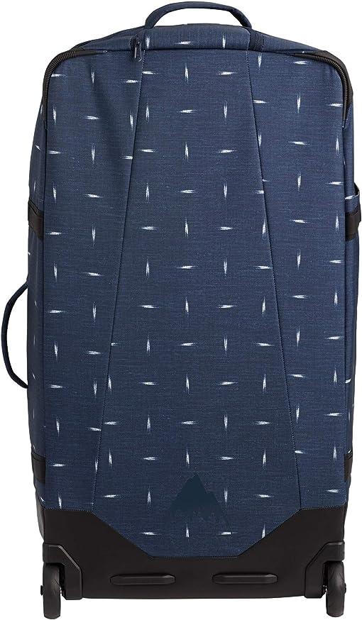 Dress Blue Basket Ikat