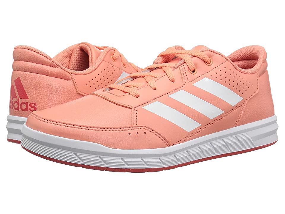 adidas Kids AltaSport (Little Kid/Big Kid) (Chalk Coral/White/Real Coral) Kids Shoes