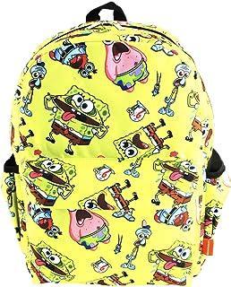 """SpongeBob SquarePants 16"""" Backpack with Laptop Sleeve"""