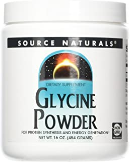 SOURCE NATURALS Glycine, 16 Ounce