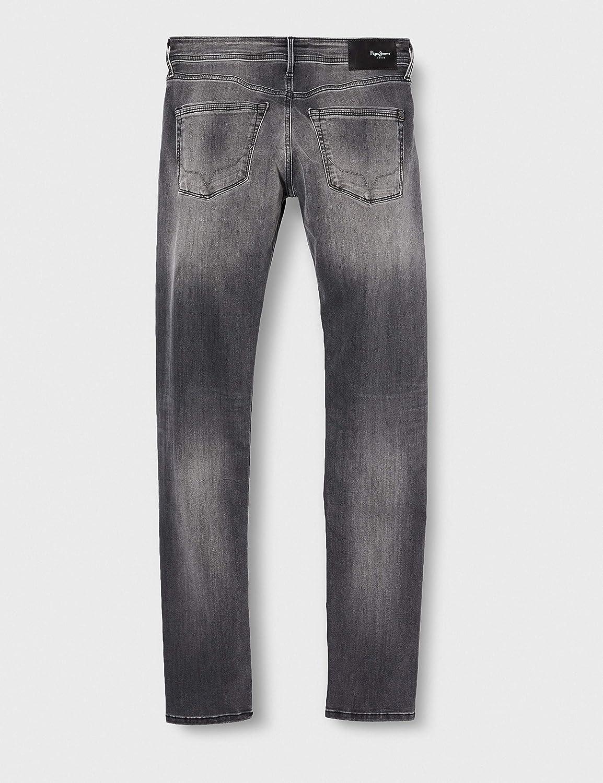 Pepe Jeans Men's Stanley Straight Jeans Black (Denim 000)