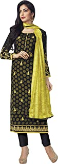 BLACK AND YELLOW CASUAL STRAIGHT CUT STYLE SUIT