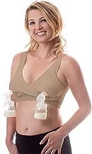 how to use a nursing bra to pump