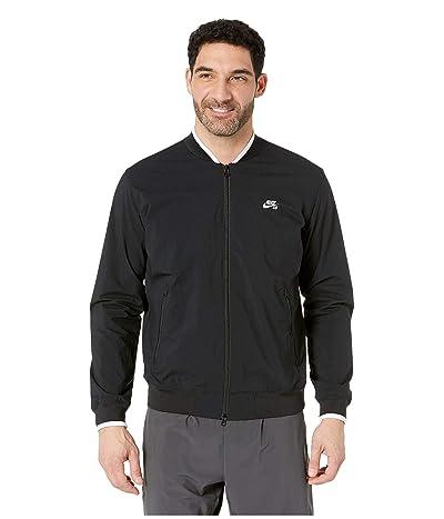 Nike SB SB Icon Bomber Jacket (Black/White) Men