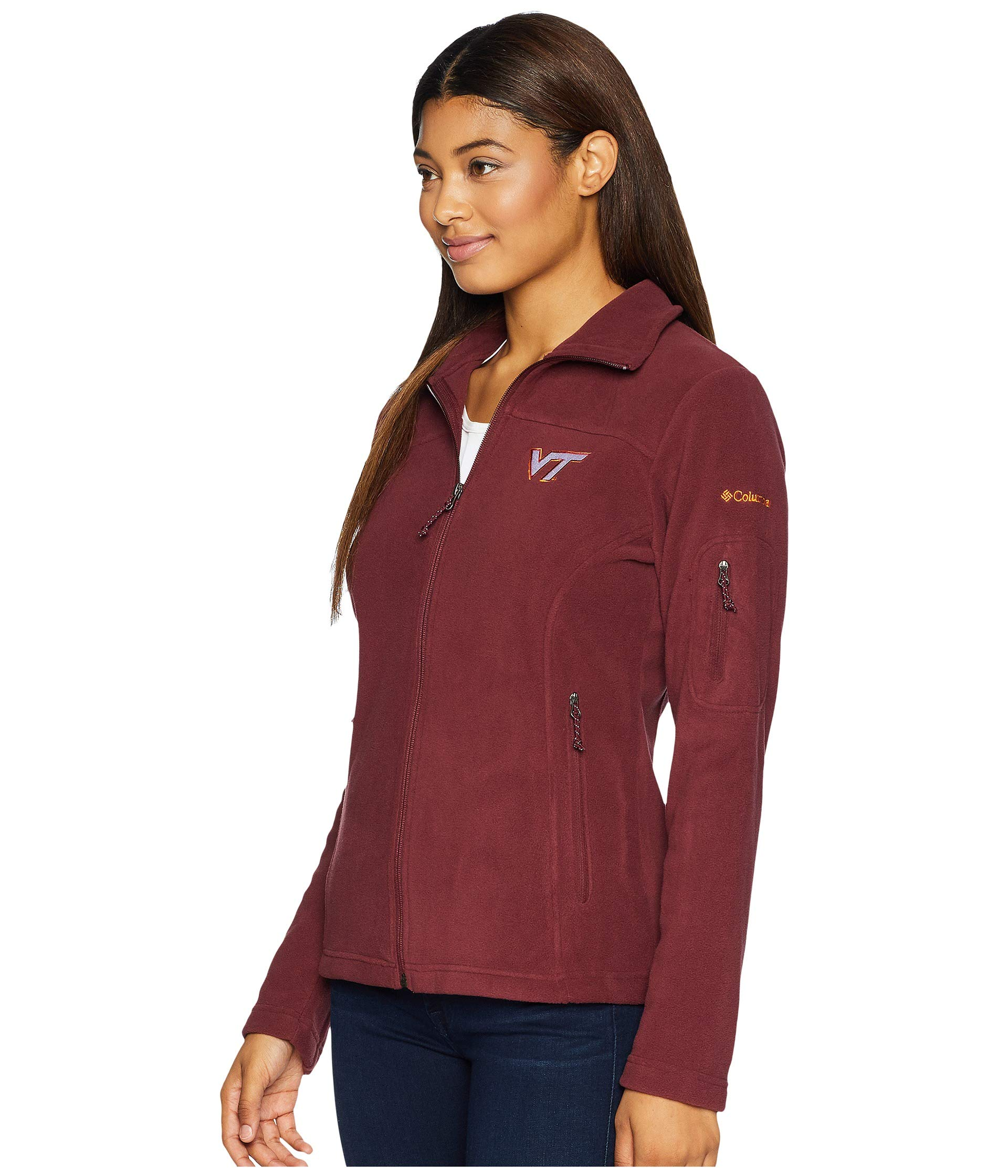 Give And Full Fleece Columbia Vt maroon Go™ Zip TqdWv5Z