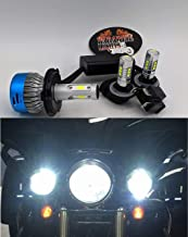 2006 and Up 3 Piece Super Bright Paradise Lights US Ship Harley Electra Glide, Ultra Classic, Heritage, Softail, FLH, FLHX, FLHRS, FLHTC, FLHTCU LED Complete 3 Bulb Set