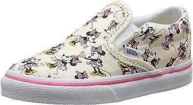 Amazon.com: Vans Minnie Mouse/White - Zapatillas sin cordones para ...