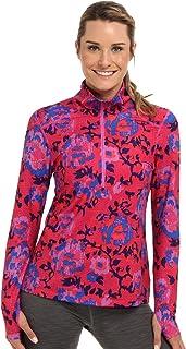 Columbia Sportswear Women's Trail Crush Printed Half-Zip Shirt