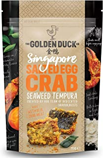 The Golden Duck Salted Egg Crab Seaweed Tempura