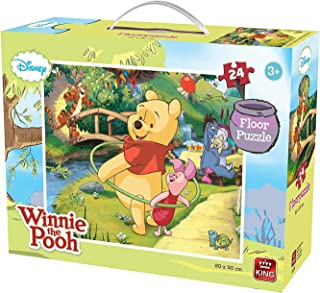 My First Winnie The Pooh 24 Piece Floor Puzzle for Little Hands Age 2+ King