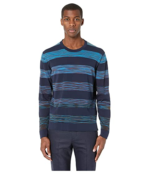Missoni Block Stripe Cotton Sweater