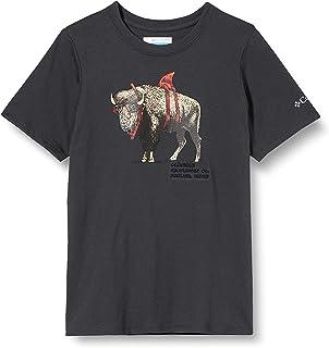 Columbia Peak Point Camiseta Estampada De Manga Corta Unisex niños