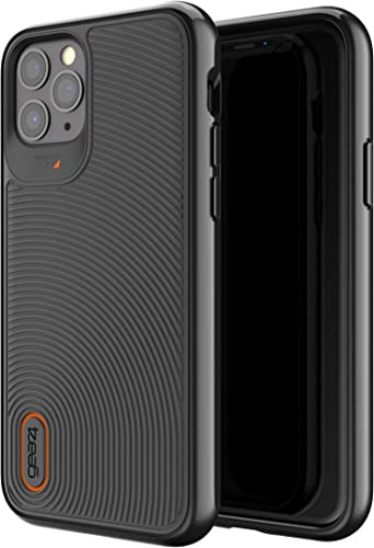 ZAGG Gear4 Battersea Compatible with iPhone 11 Pro Case, Advanced Impact Protection with Integrated D3O Technology Phone Cover - Black