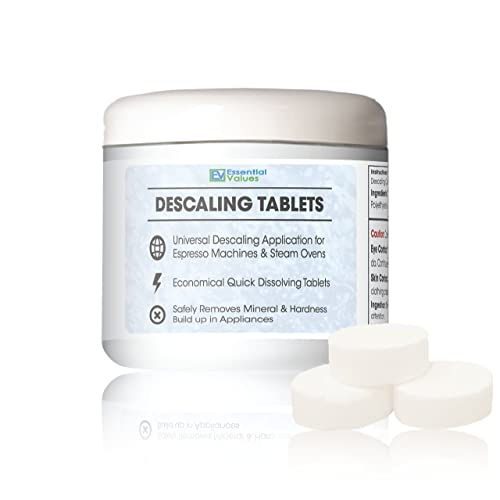 Descaling Tablets (12 Count/Up To 12 Uses) For Jura, Miele,