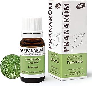 Pranarôm | Huile Essentielle Palmarosa | Cymbopogon martinii var. motia | Partie Aérienne | HECT | 10 ml