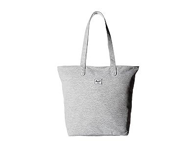 Herschel Supply Co. Mica (Light Grey Crosshatch) Tote Handbags